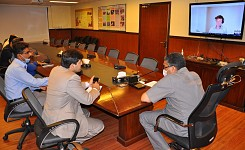 GIZ and AEDB conducted virtual meeting to discuss operational activities, timelines and support mech